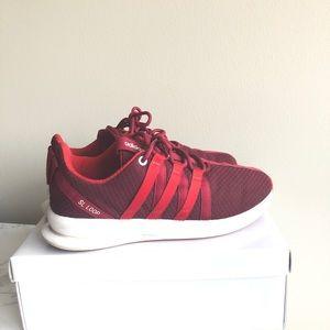 Red Adidas SL Loop Sneakers
